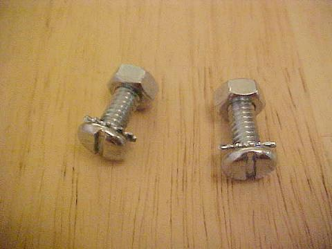 Fender Brace Bolt Kit