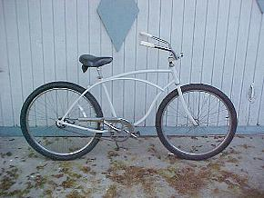 White Work Bike