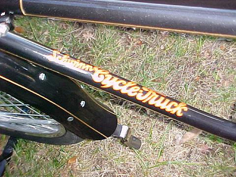 Decal On The Downtube.